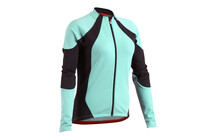 Descente Women's Signature Jersey LS Aqua